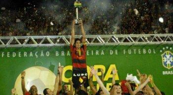 O Sport foi campeão da Copa do Brasil de 2008
