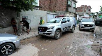 A Polícia Militar esteve no local em que o corpo foi encontrado
