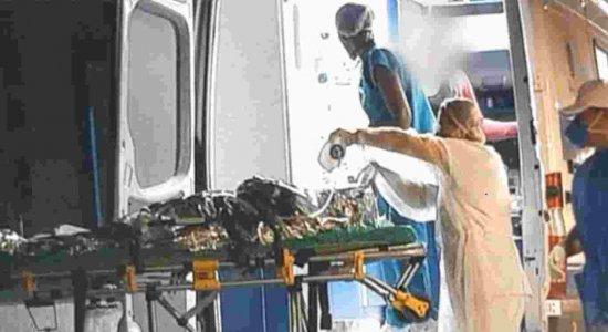 Coronavírus: mulher quase morre queimada após passar álcool no corpo