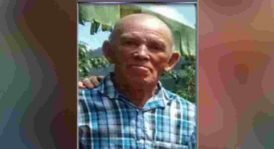 Família pede ajuda para encontrar idoso que desapareceu em janeiro