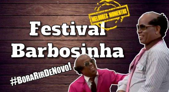 Festival Barbosinha: TV Jornal reexibe melhores momentos do É Pau na web