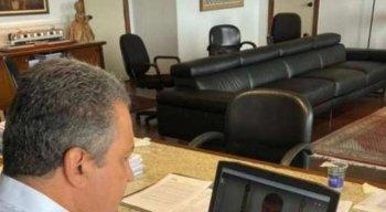 Os governadores do Nordeste se reuniram por videoconferência
