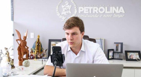 Coronavírus: Prefeito de Petrolina se reúne com entidades ligadas ao comércio