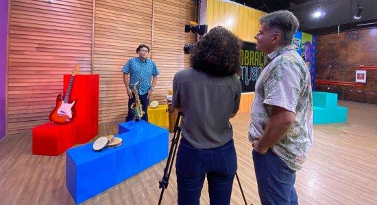 Abraço Musical: artistas se reúnem na tela da TV Jornal em novo programa