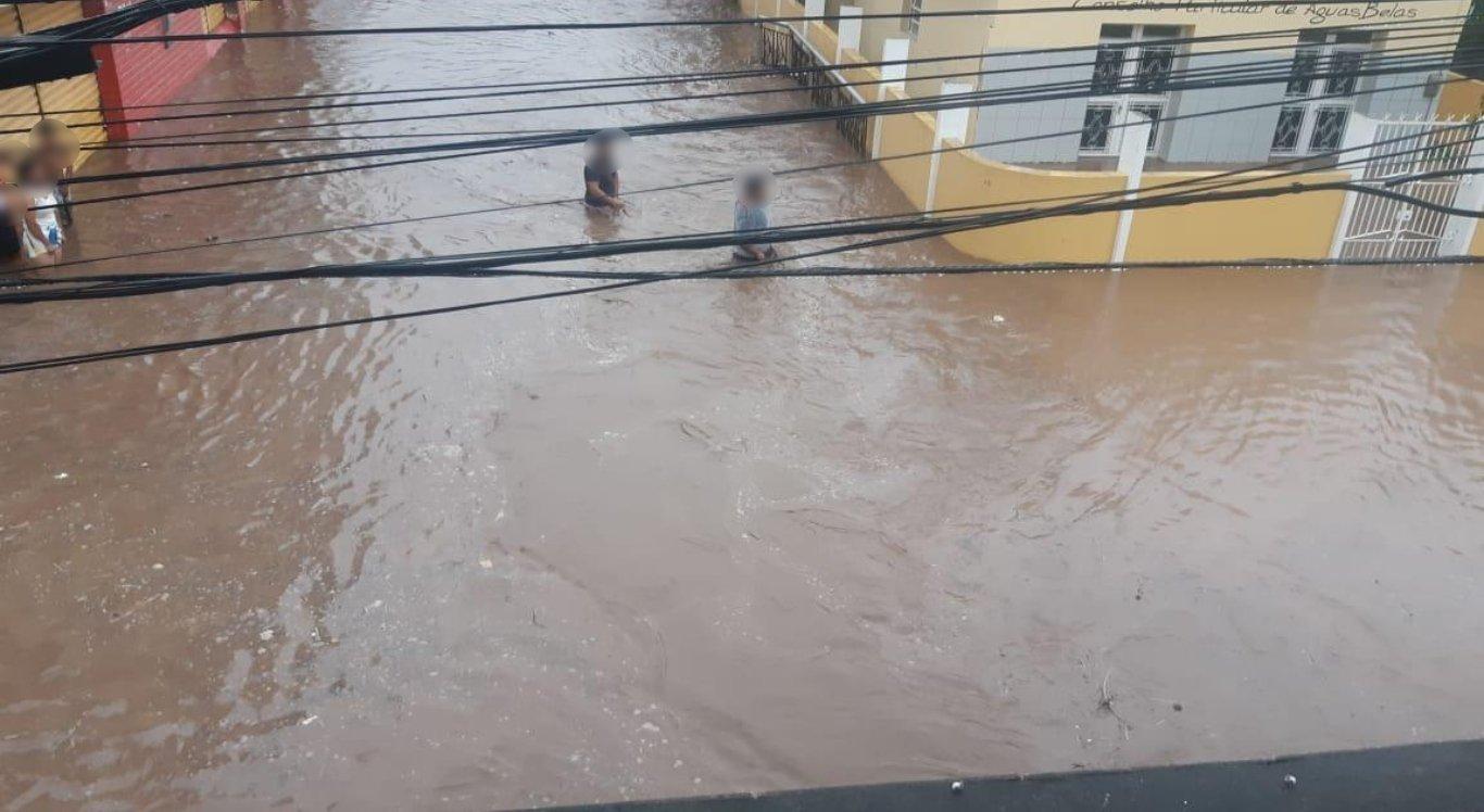 Choveu muito em Águas Belas, no Agreste