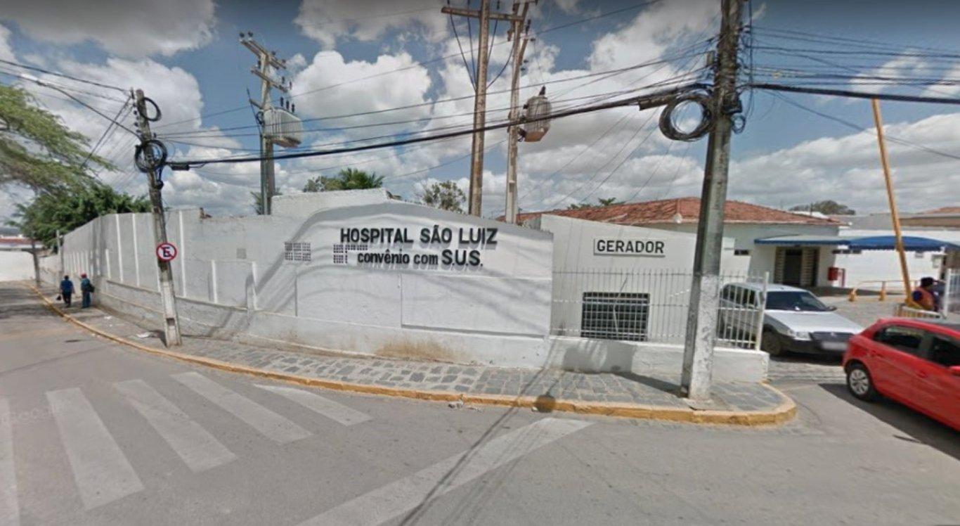 Menina foi levada para Hospital São Luiz