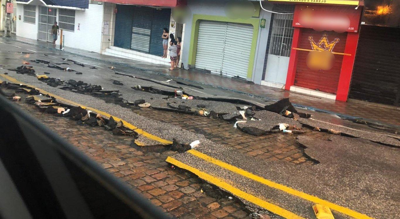 Chuvas causam transtornos em Arcoverde