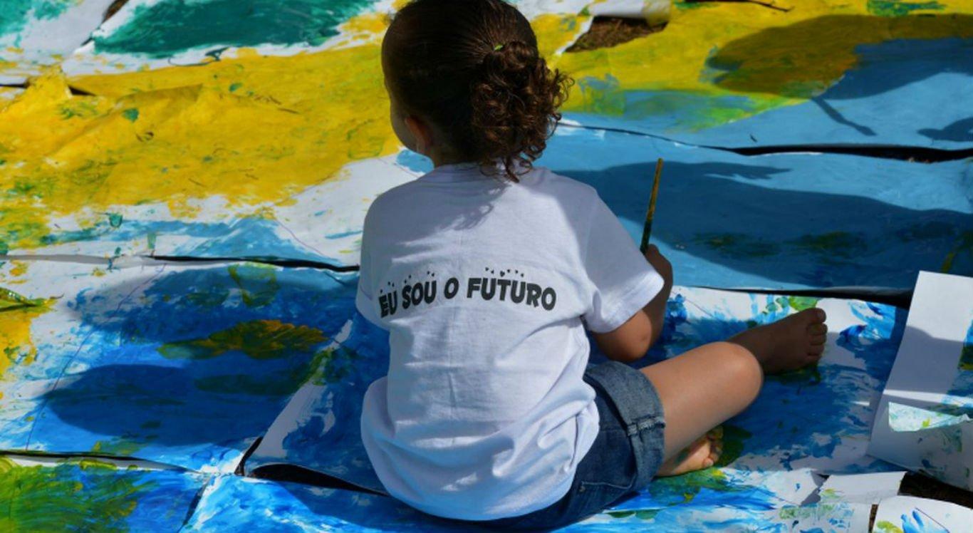 Crianças podem realizar atividades lúdicas para aliviar o estresse