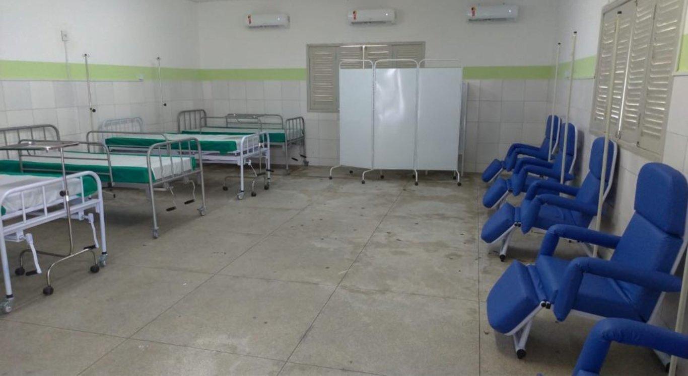 Hospital de campanha é aberto em Toritama