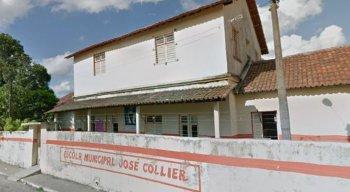 Escola Municipal José Collier, em Camaragibe, foi alvo de arrombamentos