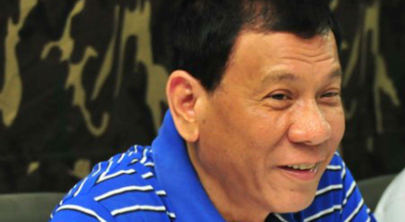 Rodrigo Duterte condenou manifestações realizadas em localidade pobre