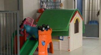 Lar abriga crianças em situação de abandono e risco