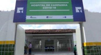 Um Hospital de Campanha foi montado emToritama, no Agreste de Pernambuco