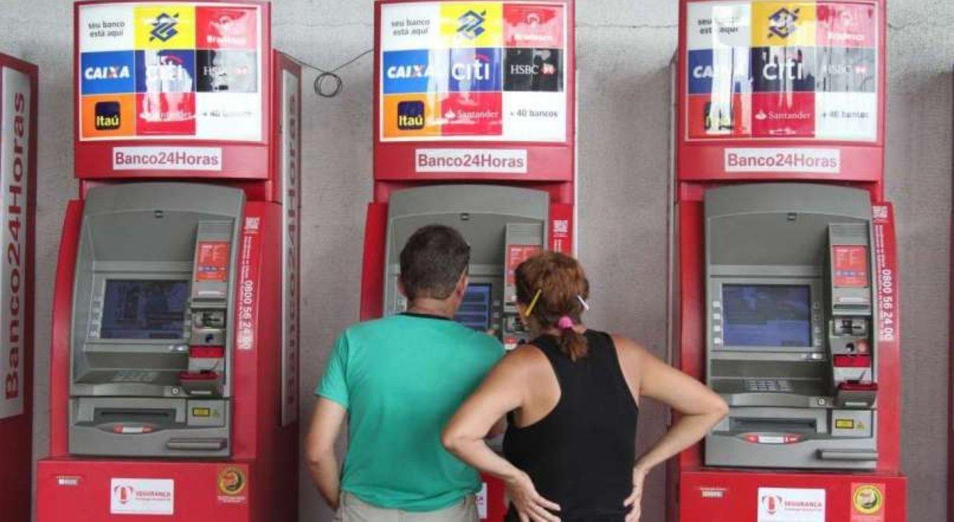 Banco24Horas oferecerá saque de auxílio emergencial nos caixas eletrônicos