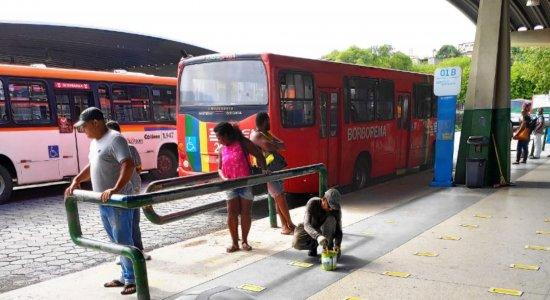 Frota de ônibus da Região Metropolitana do Recife sofre redução de 47%