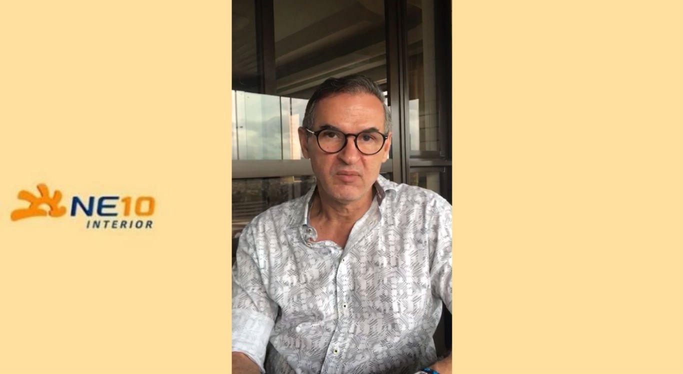 Empresário Djalma Júnior gravou vídeo falando sobre possibilidade de reabertura do comércio