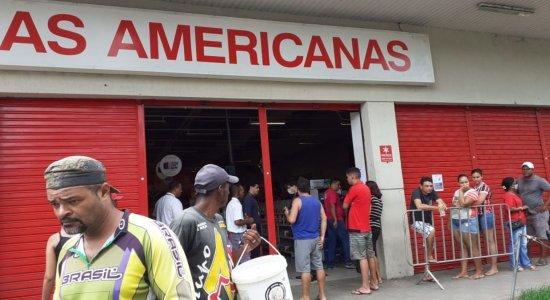Covid-19: Após desrespeitar medidas restritivas, Lojas Americanas de Jaboatão Centro é interditada
