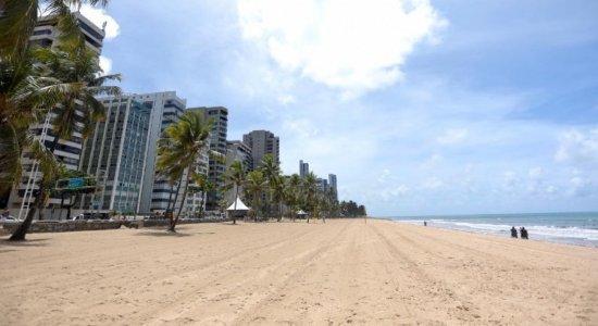 Governo de Pernambuco prorroga fechamento de praias e parques em todo o Estado