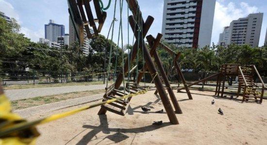 Coronavírus: praias e parques permanecerão fechados até o dia 30 de abril em Pernambuco