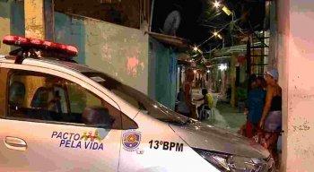 O crime aconteceu na Travessa Hermínio Gomes.