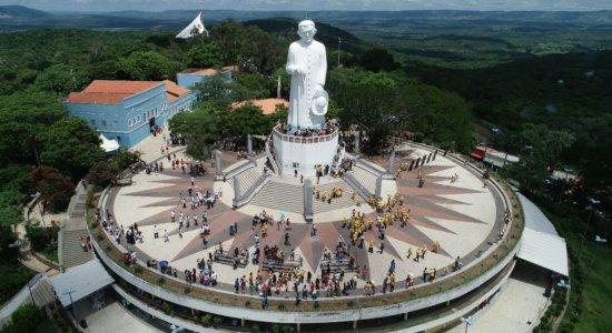 Fiéis em Juazeiro do Norte, no Ceará