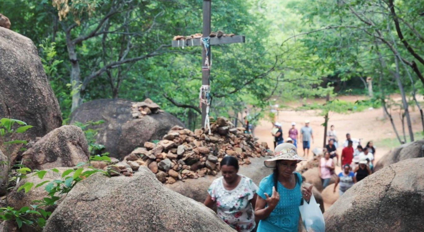 Peregrinação em Juazeiro do Norte, no Ceará