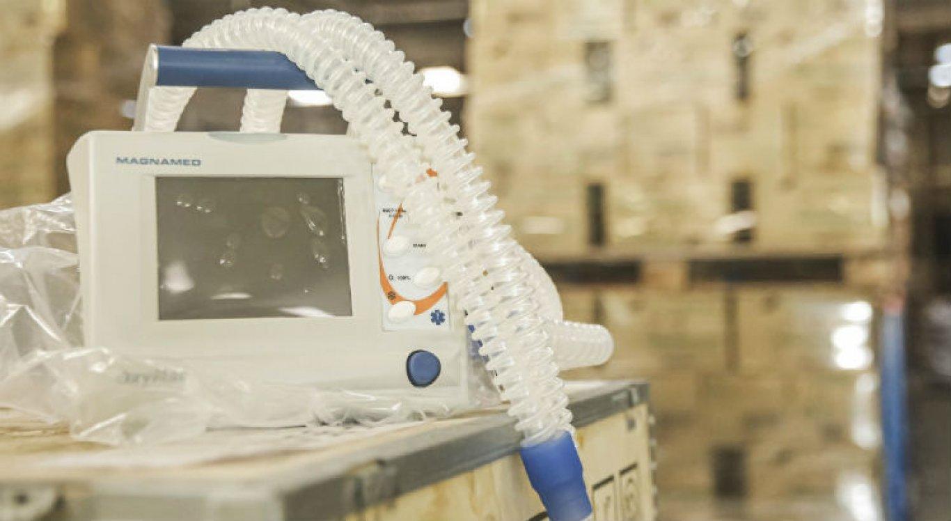PCR anunciou aquisição de equipamentos de saúde