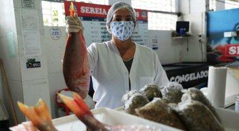 Você já comprou o peixe da semana santa?