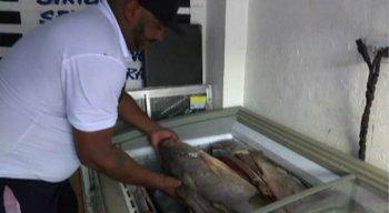 Flávio Souza criou um serviço de entrega para atender os clientes que estão isolados em casa