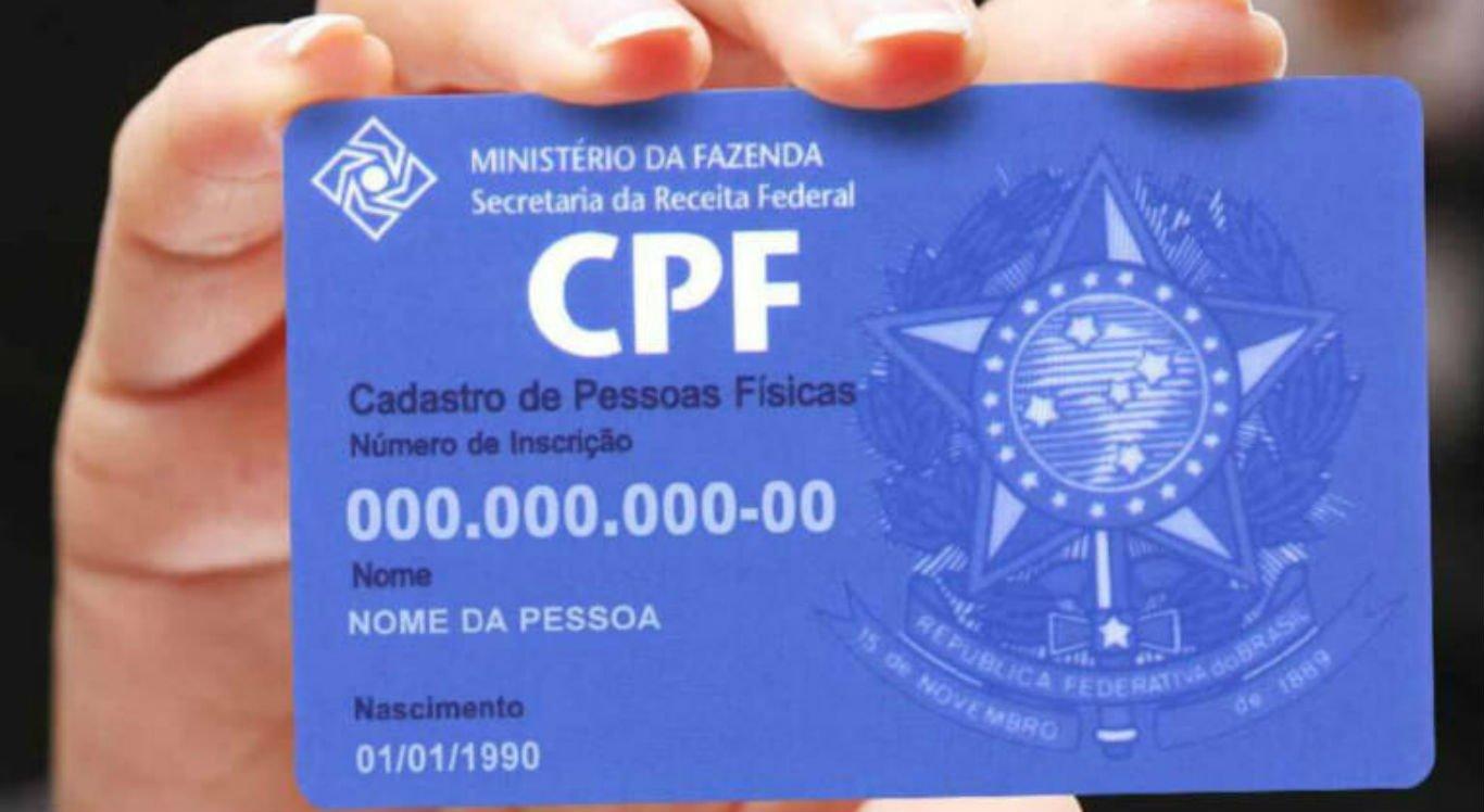 CPF pode ser regularizado pela internet