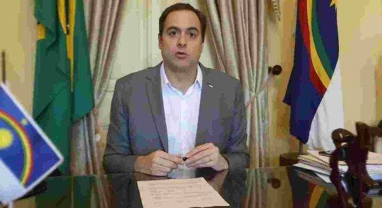 Governador Paulo Câmara pediu compreensão no cumprimento do isolamento social