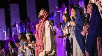 Paixão de Cristo: Jesus, a Luz do Mundo, foi  encenada no Marco Zero no ano passado