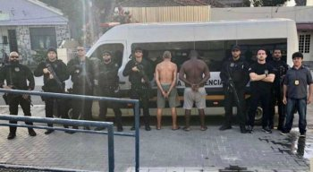Dois homens foram presos por descumprir regra do regime domiciliar