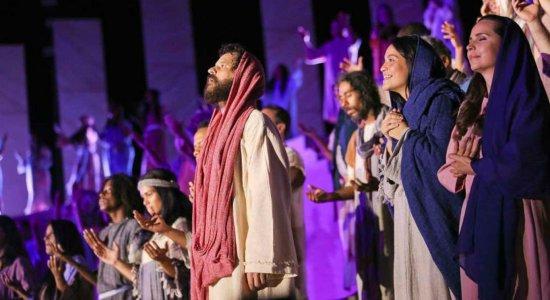 Paixão de Cristo de 2019 no Marco Zero é transmitida virtualmente, em versão adaptada