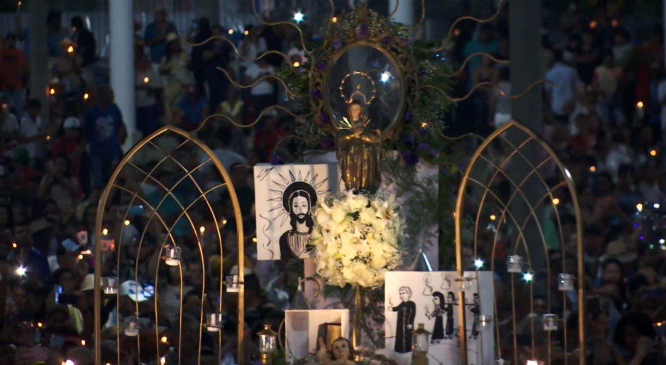 Missa de encerramento da festa de Nossa Senhora das Candeias