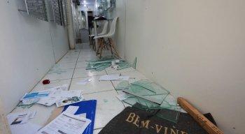 Ótica foi arrombada e roubada no Centro do Recife
