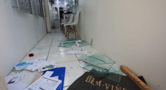 Na quarentena do Coronavírus, lojas são arrombadas no Centro do Recife