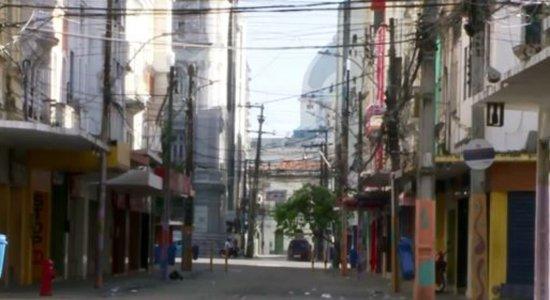 Coronavírus: Fecomércio e Câmara de Dirigentes Lojistas solicitam reforço do policiamento no Centro do Recife