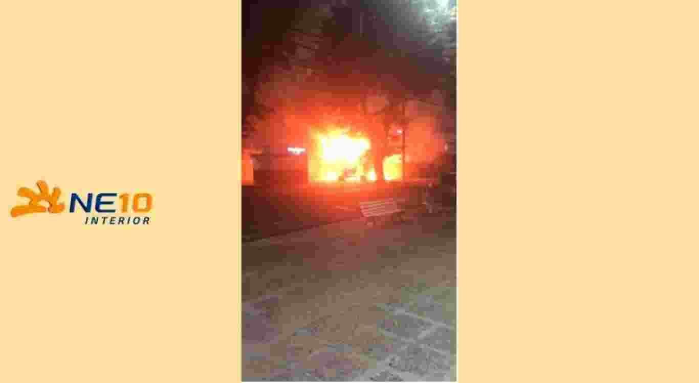 Homem é suspeito de incendiar sorveteria em Garanhuns