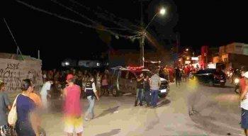 O duplo homicídio aconteceu na Rua Uriel de Holanda