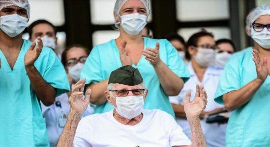 Brasileiro de 99 anos que lutou na 2ª Guerra Mundial se cura do Coronavírus