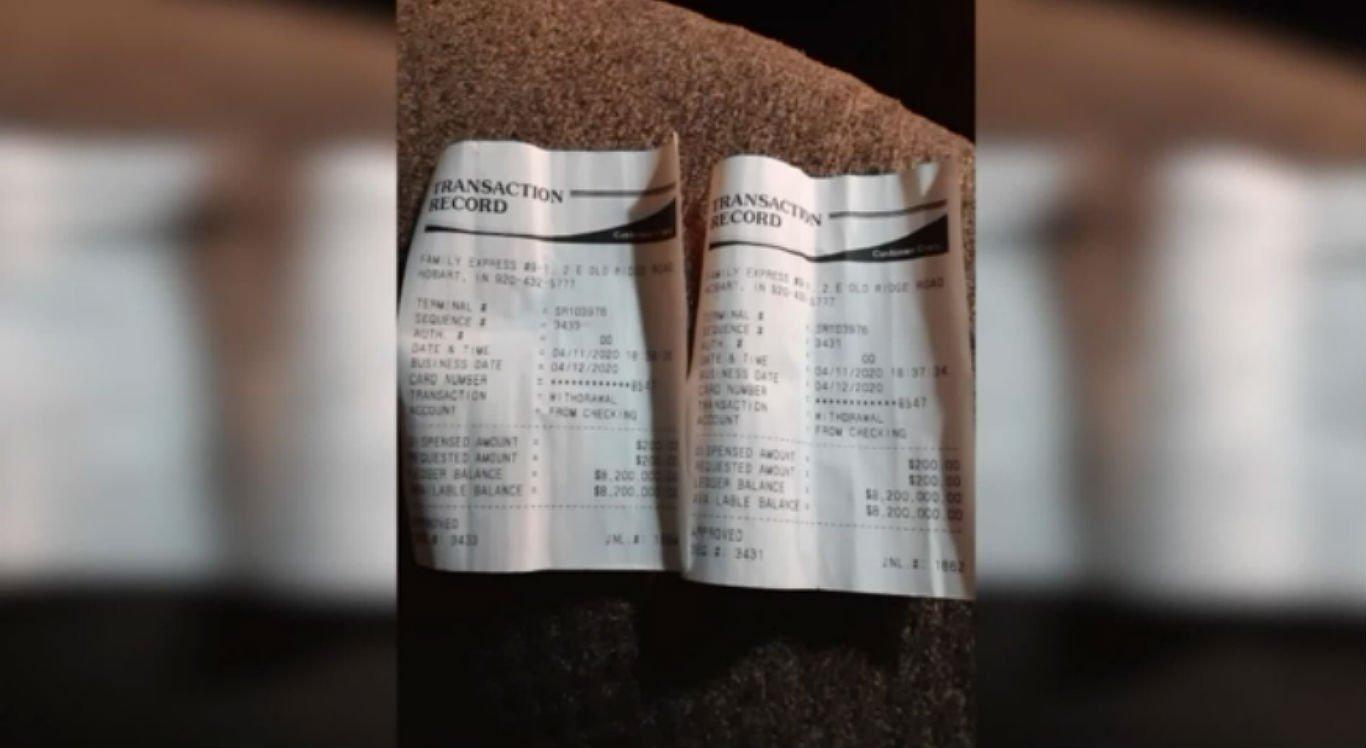 Bombeiro chegou a tirar vários extratos bancários para verificar o saldo da conta