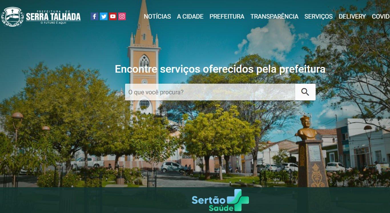 Aplicativo pode ser baixado através de um site da prefeitura de Serra Talhada