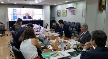 Além dos ministros da Saúde do G20, bloco formado pelas 20 maiores economias do mundo, o presidente da OMS, Tedros Adhanom Ghebreyesu, também participou da reunião