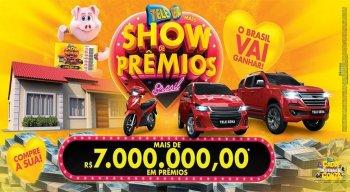 Confira resultado da Tele Sena Show de Prêmios