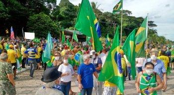 Há manifestações em diferentes pontos do país, como Salvador, Manaus, São Paulo e Brasília