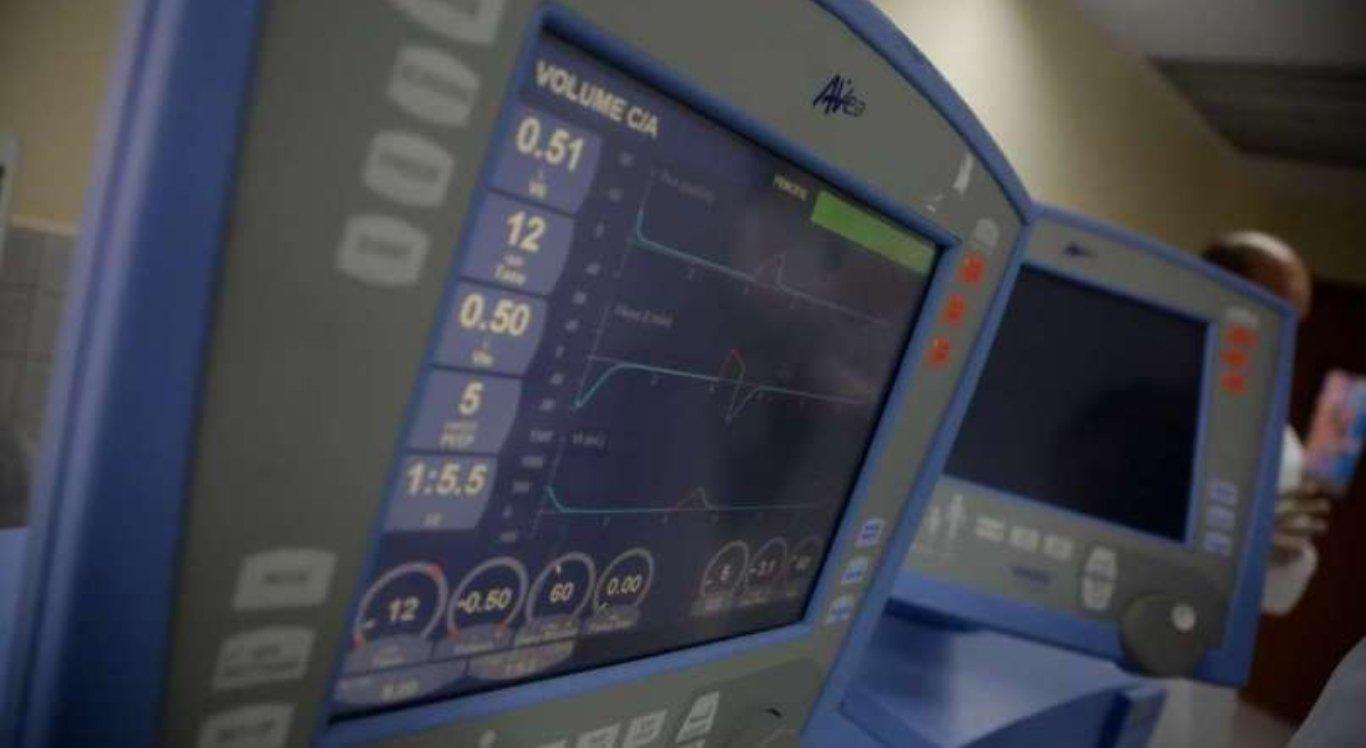 Respiradores destinados para UTIs em Pernambuco estão em uso