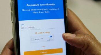Pessoas podem acompanhar a solicitação no aplicativo do Auxílio Emergencial