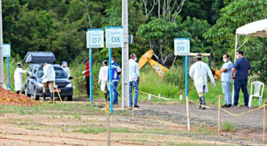 MPPE recomenda expansão de cemitérios para realização dos enterros das vítimas do coronavírus