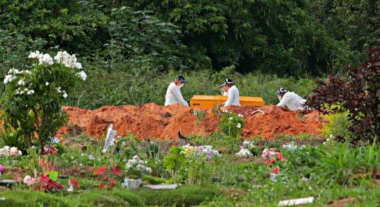 Pernambuco atinge 2.057 mortes por coronavírus e 25.760 casos